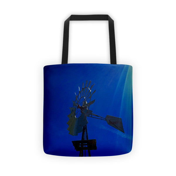 Underwater Windmill Tote bag