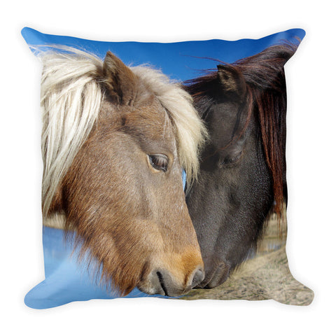 Pony Love Throw Pillow