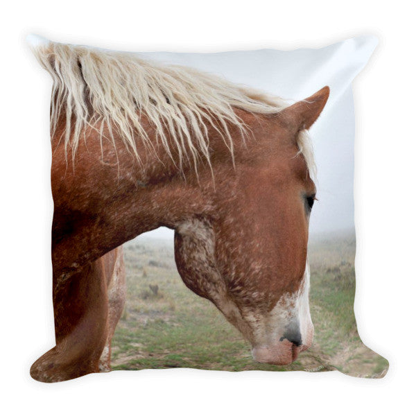 Dreaming in the Mist Throw Pillow