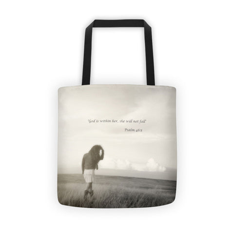 After the Storm Inspirational Tote bag