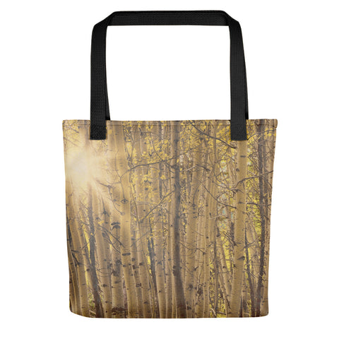 Aspens in Summer Tote bag