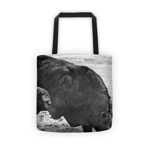 Curl and Wave Tote bag