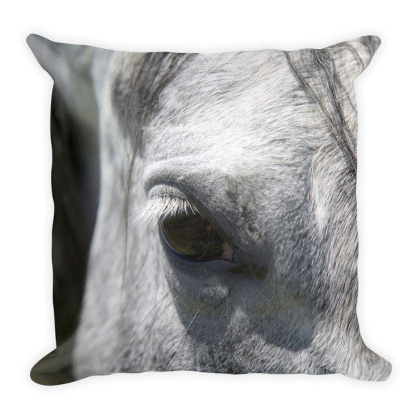Ousted's Eye Throw Pillow