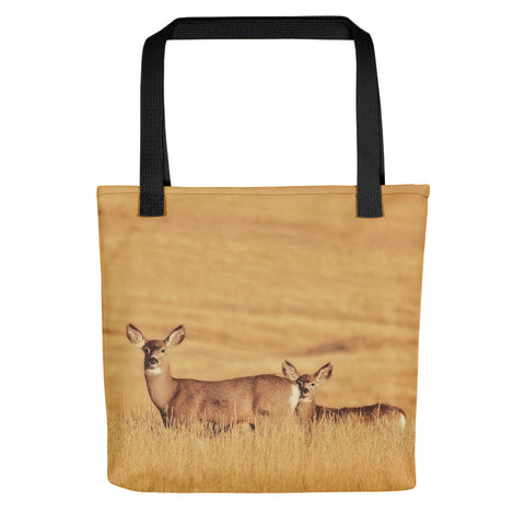 Sunset Deer Tote bag