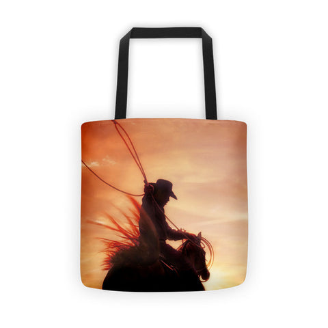Sunset Roper Tote bag