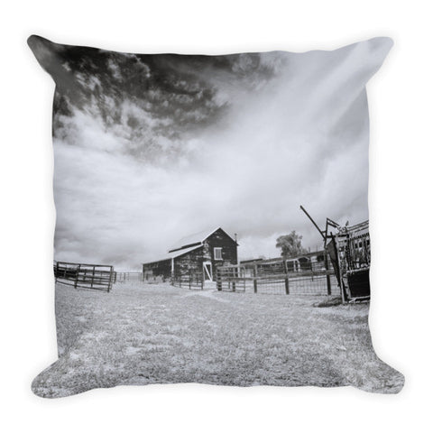 Ranchscape Throw Pillow