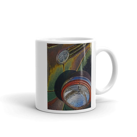 Ford Headlight Mug