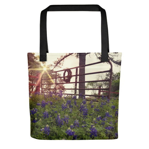 Blue Bonnet Gateway Tote bag