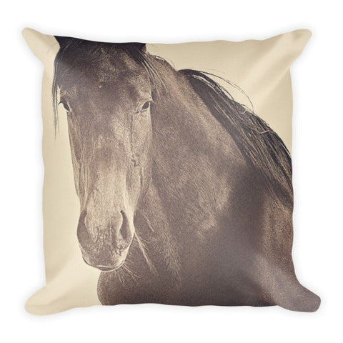 Brazen and Bold Throw Pillow