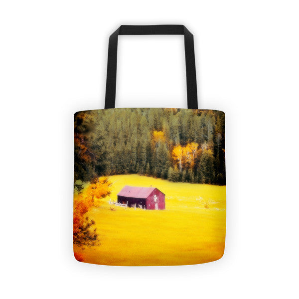 Fall on a South Dakota Meadow Tote bag
