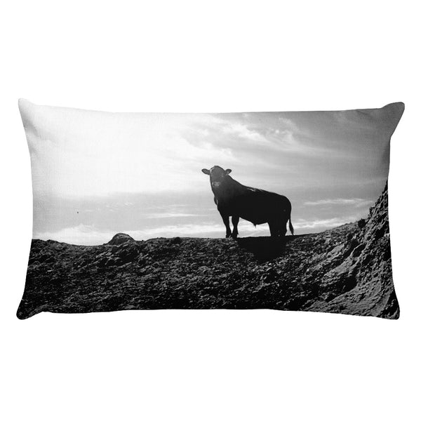 King of the Hill Rectangular Pillow