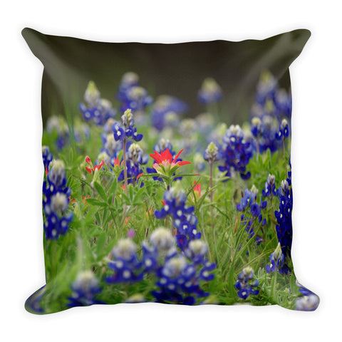 The Lone Star Throw Pillow