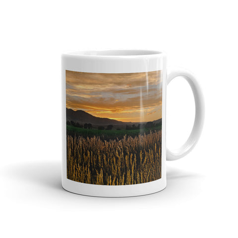 Western Skies at Sunset Mug