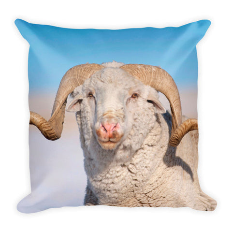 In Charge Throw Pillow