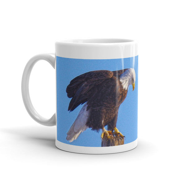 Preparing for Patriotic Flight Mug