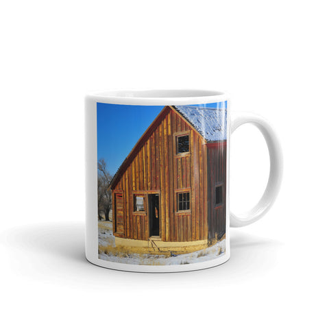 Sunset Barn Mug