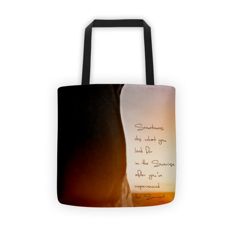 Sunrise Sunset Tote bag