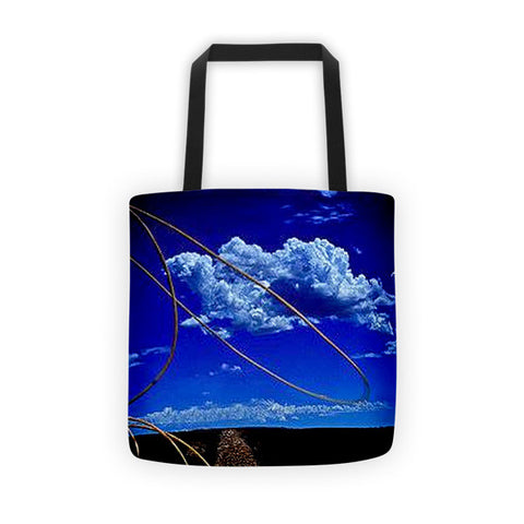 Rope the Road Ahead Tote bag