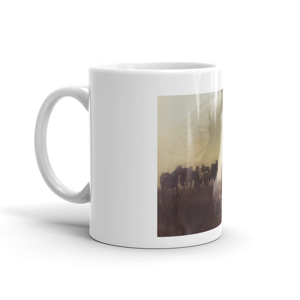 Watch Over the Last Run at Dusk Mug