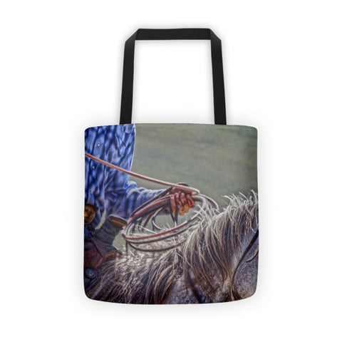 Ropin' it Rough Tote bag