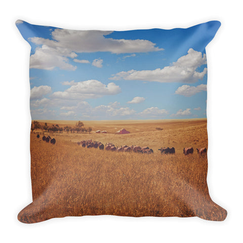 Sarah's View Throw Pillow
