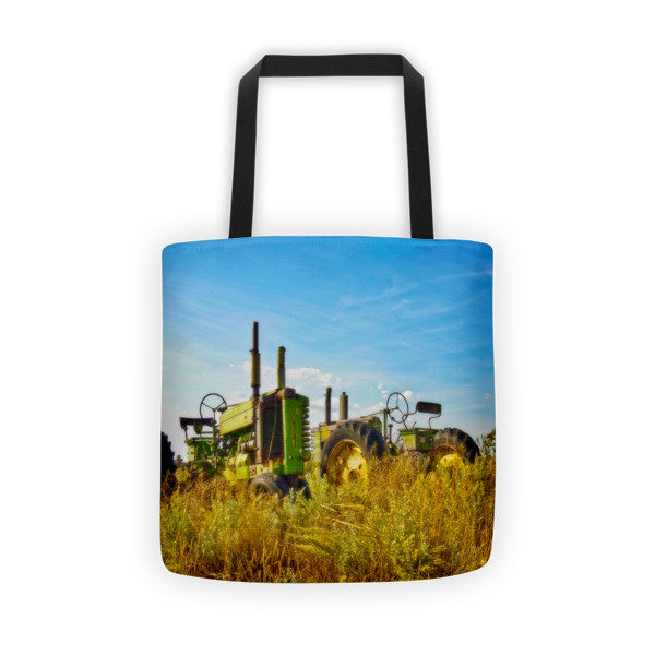 John Deere Two Tote bag