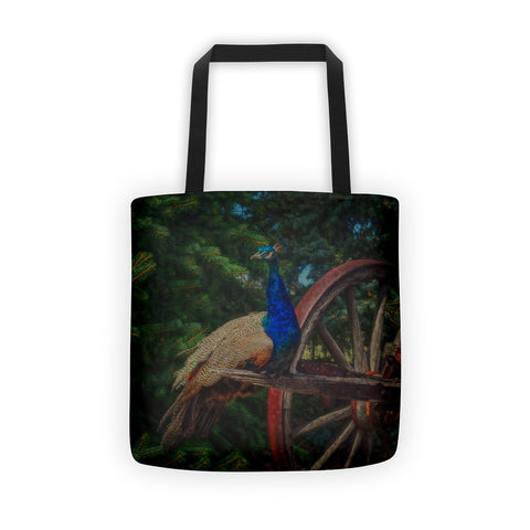 Peacock Vantage Tote bag