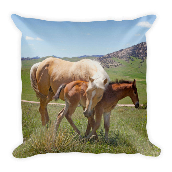Sweet Comfort Throw Pillow