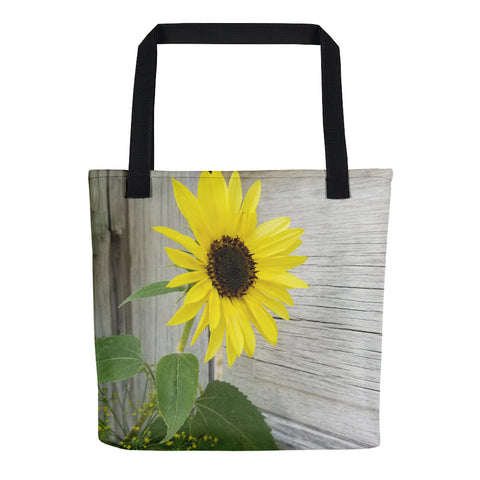 Sunflower and Dill Tote bag