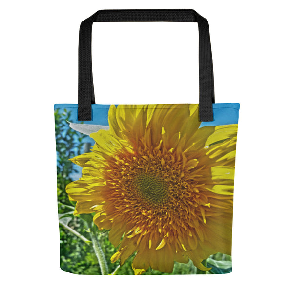 Candy Tuft Sunflower Tote bag