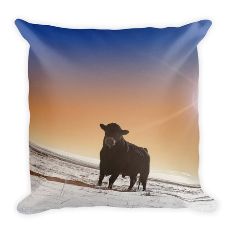 Silent Tenacity Throw Pillow