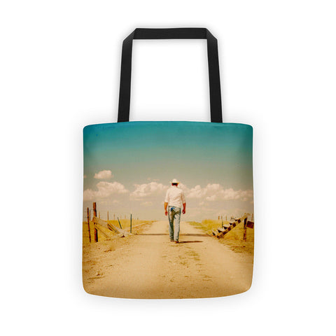 That Dusty Road Tote bag