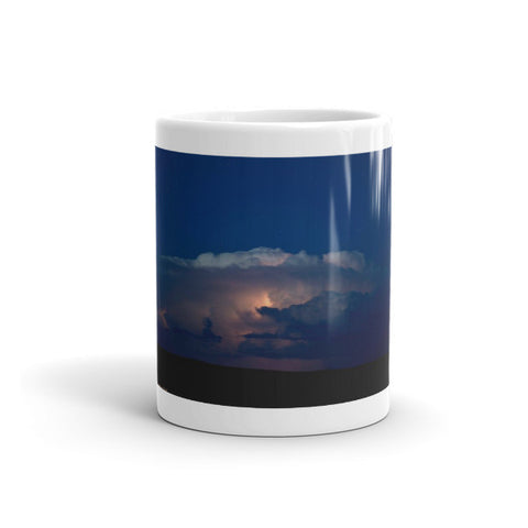 Thunder Boomer Over Wyoming Skies Mug