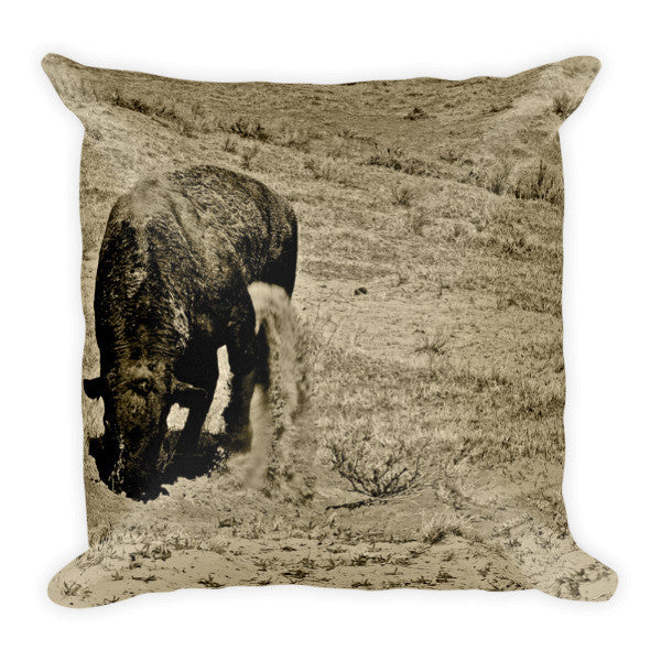 Just Kickin It Throw Pillow