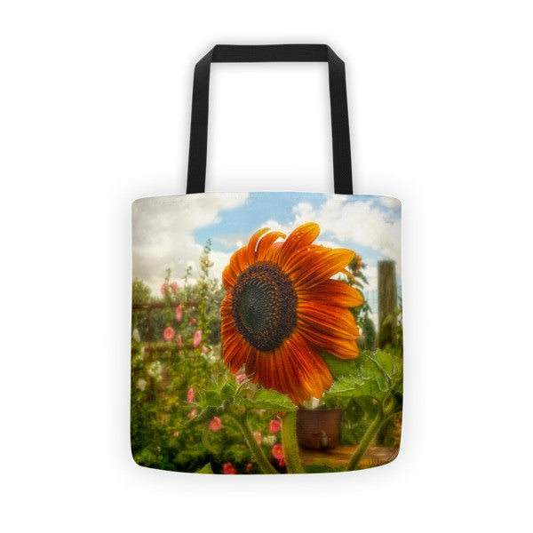 Ridin' That Wyoming Wind Tote bag