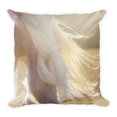 Texas Gold Throw Pillow