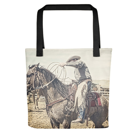 Roped and Ready Tote bag