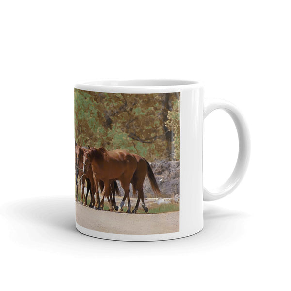 He Leads Me to Still Waters Mug