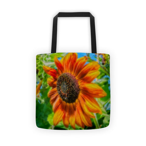 Sun Shower Sunflower Tote bag