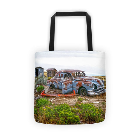 Homestead and Pontiac Tote bag