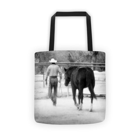 Hour by Hour I Place my Days in Your Hands Tote bag