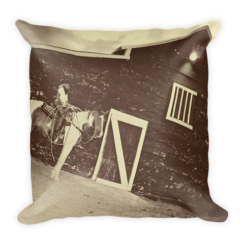 Rustic and Real Throw Pillow