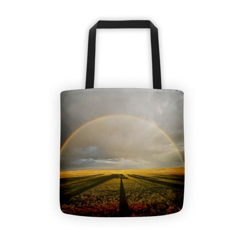 Right Time Right Place Tote bag