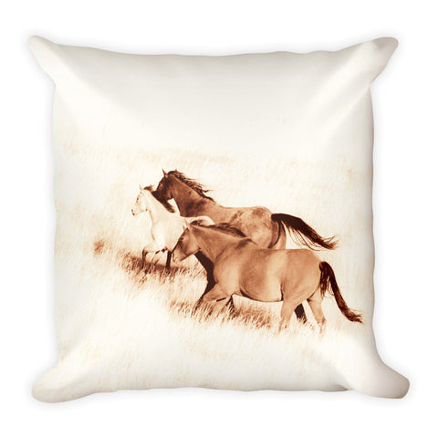 Prairie Wild Throw Pillow