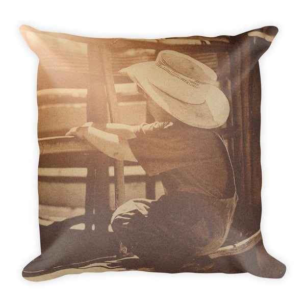 Rodeo Dreamin' Throw Pillow
