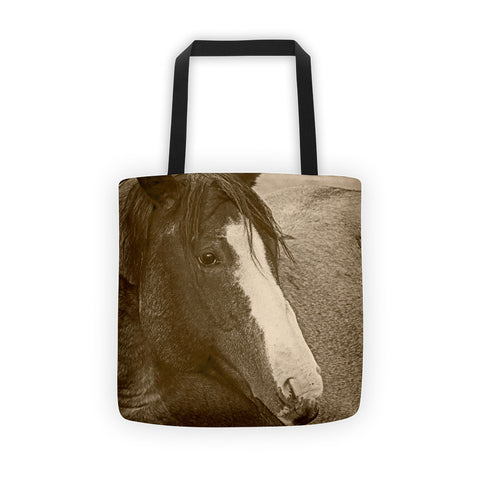 Blaze N Gray Tote bag