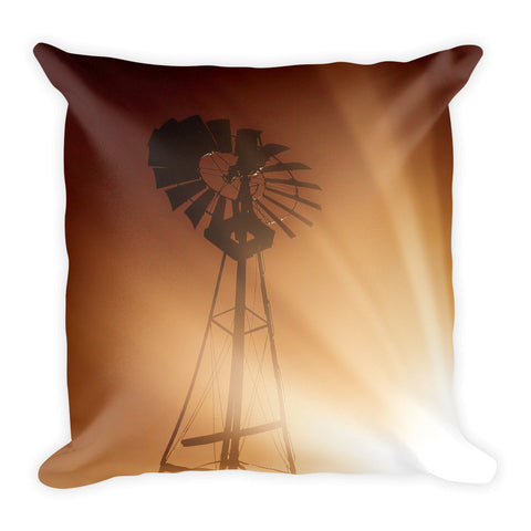 Tommy's Windmill Throw Pillow