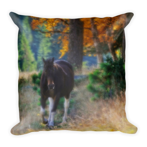 September Surrender Throw Pillow