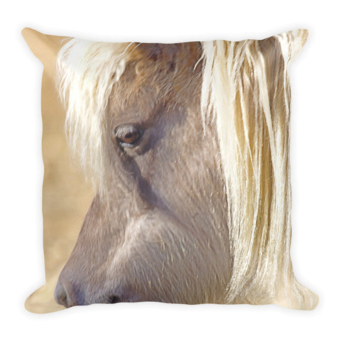 Silver and Grey in Sunlight Throw  Pillow
