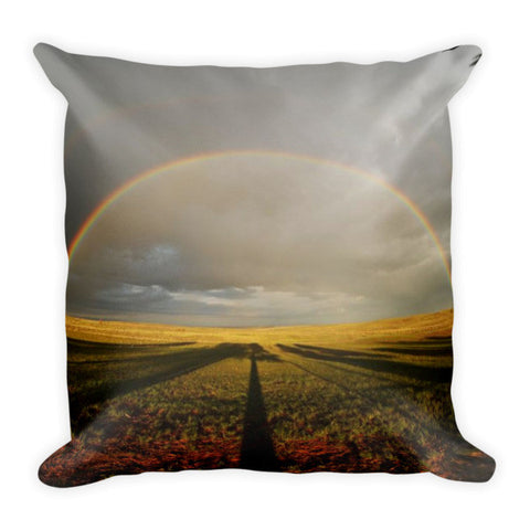 Right Time Right Place Throw Pillow